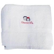 Bath Towel, Choose Life