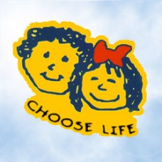 Window Decal, Choose Life Kids