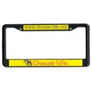 Black plate frame